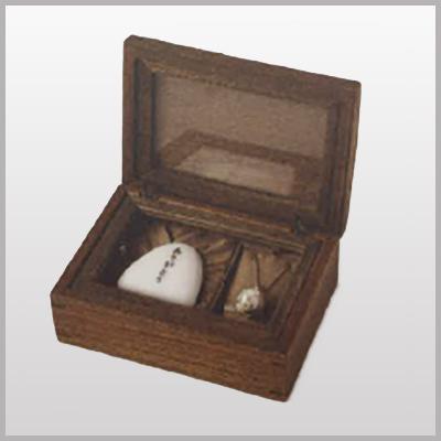 遺石保存用手づくり木箱